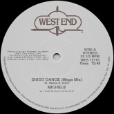 michele-disco-dance-patrick-cowley-tom-moulton-mixes-west-end-records-cover