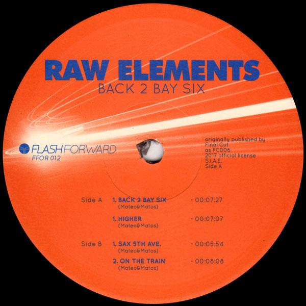 raw-elements-mateo-matos-back-2-bay-six-flash-forward-cover