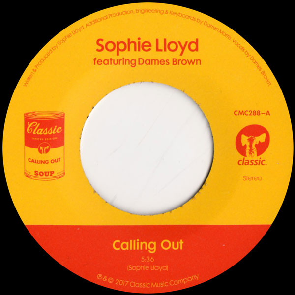 Sophie Lloyd Feat Dames Brown Calling Out Classic Vinyl