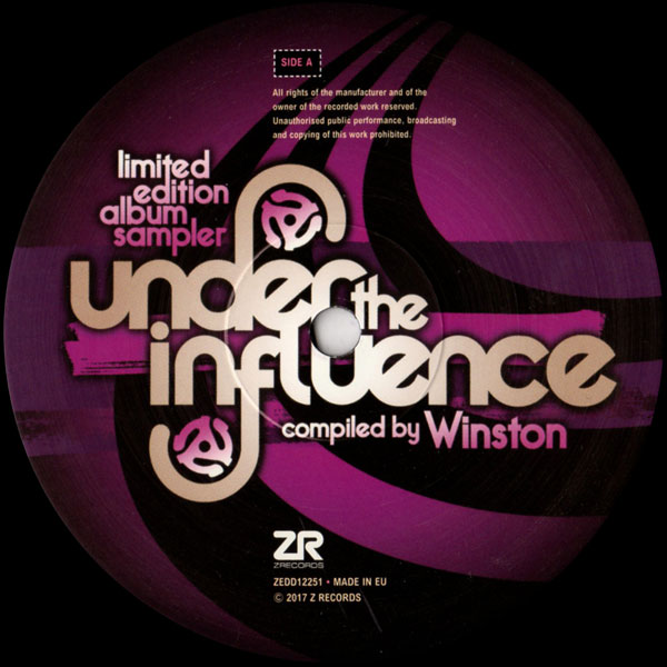 various-artists-under-the-influence-vol6-compiled-by-winston-album-sampler-z-records-cover