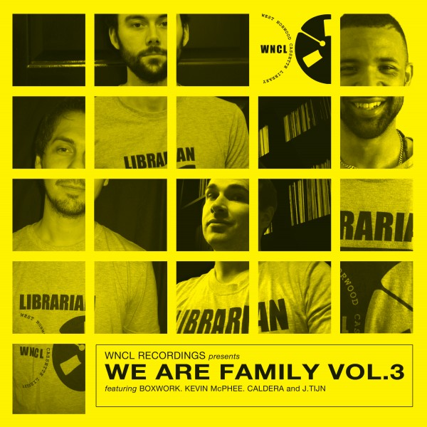 various-artists-we-are-family-vol3-ep-pre-order-west-norwood-cassette-library-cover