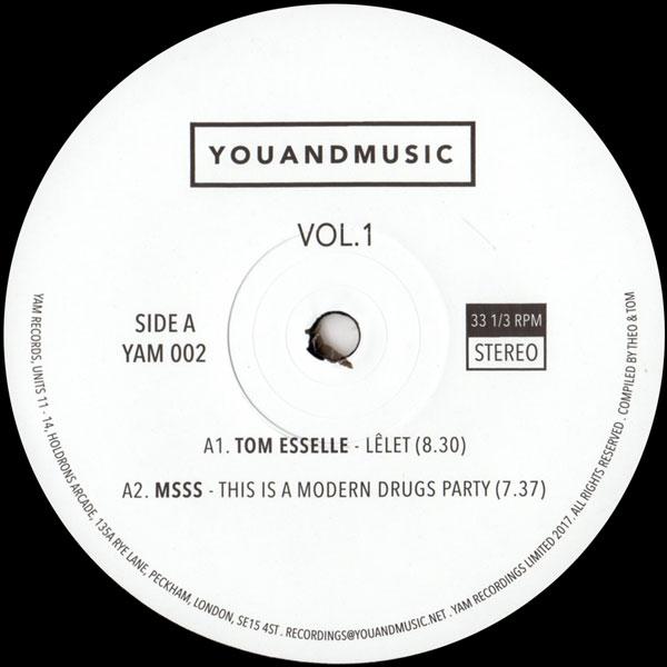 tom-esselle-sofatalk-leonidas-various-youandmusic-vol-1-yam-records-cover
