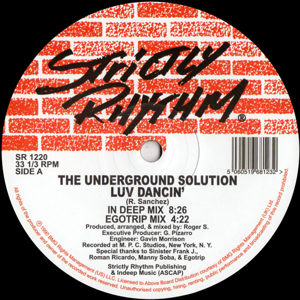 underground-solution-luv-dancin-strictly-rhythm-cover