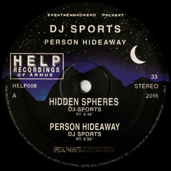 Dj Sports Spce Person Hideaway Help Vinyl Records