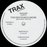 armando-armando-new-world-order-remastered-part-one-trax-records-cover