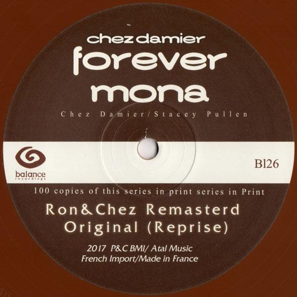 chez-damier-forever-mona-ron-chez-mix-balance-recording-cover