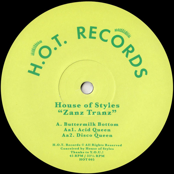 house-of-styles-zanz-tranz-hot-records-cover