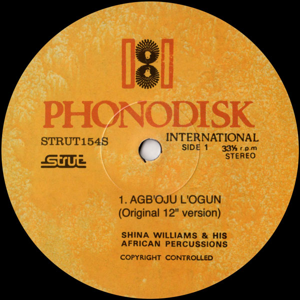 shina-williams-his-african-percussionists-agboju-logun-strut-cover