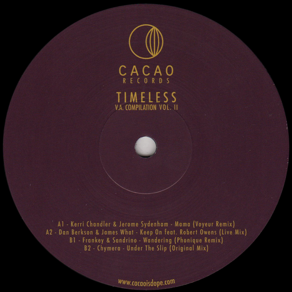 kerri-chandler-various-artists-timeless-vol-ii-cacao-cover