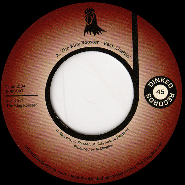 the-king-rooster-back-chattin-fat-chance-dinked-records-cover