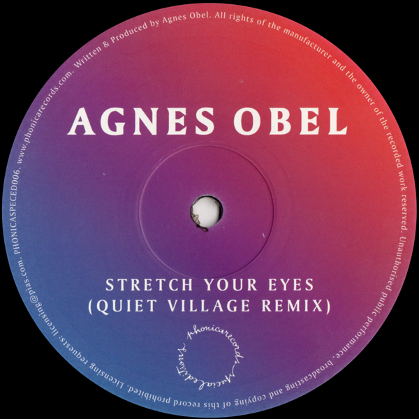 agnes-obel-stretch-your-eyes-quiet-village-remix-pre-order-phonica-records-special-editions-cover