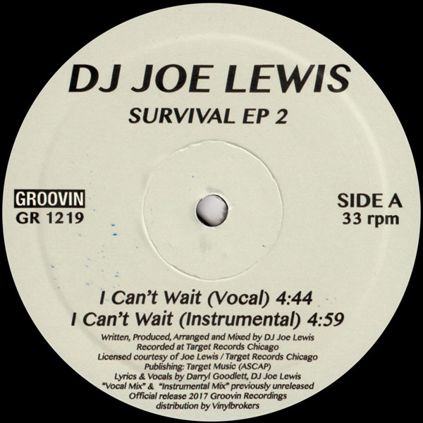 dj-joe-lewis-survival-ep-2-groovin-recordings-cover