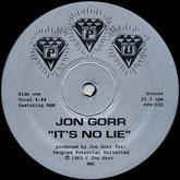 jon-gorr-its-no-lie-ppu-records-cover