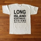 lies-long-island-electrical-systems-white-shirt-small-size-lies-cover