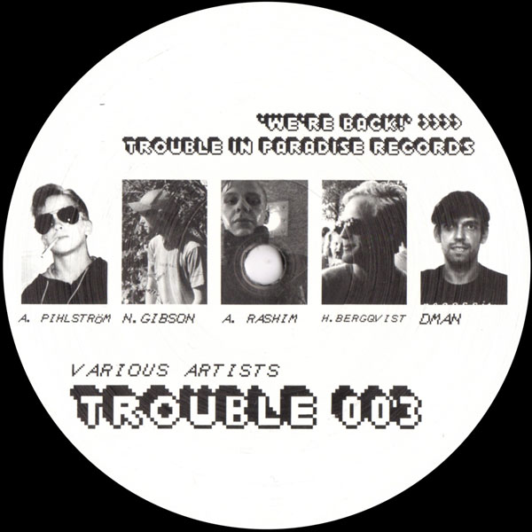 abdulla-rashim-henrik-bergqvist-various-artists-trouble-003-trouble-in-paradise-cover