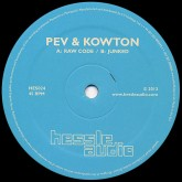 peverelist-kowton-raw-code-junked-hessle-audio-cover