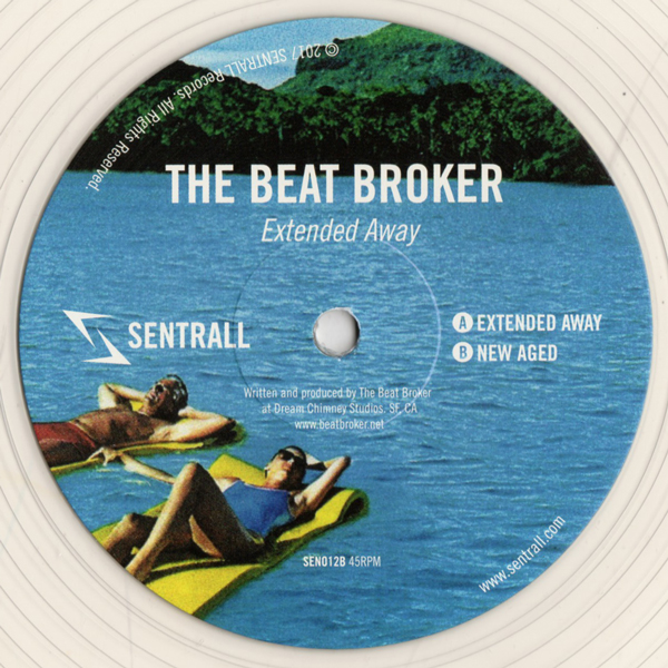 the-beat-broker-extended-away-sentrall-records-cover