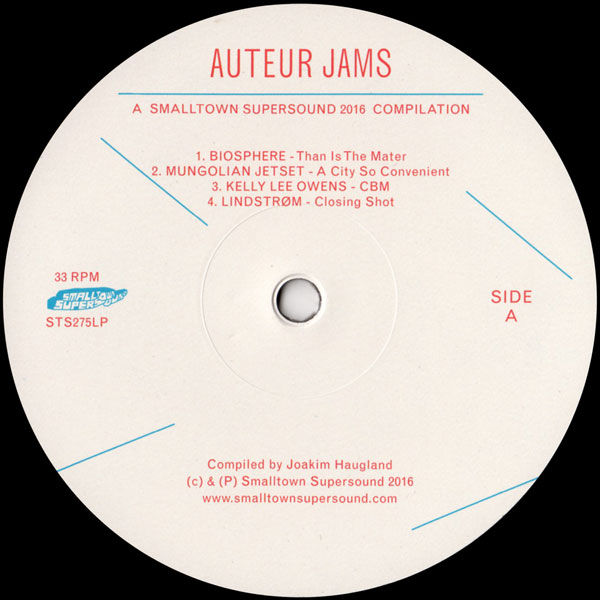 various-artists-auteur-jams-a-smalltown-supersound-2016-compilation-smalltown-supersound-cover
