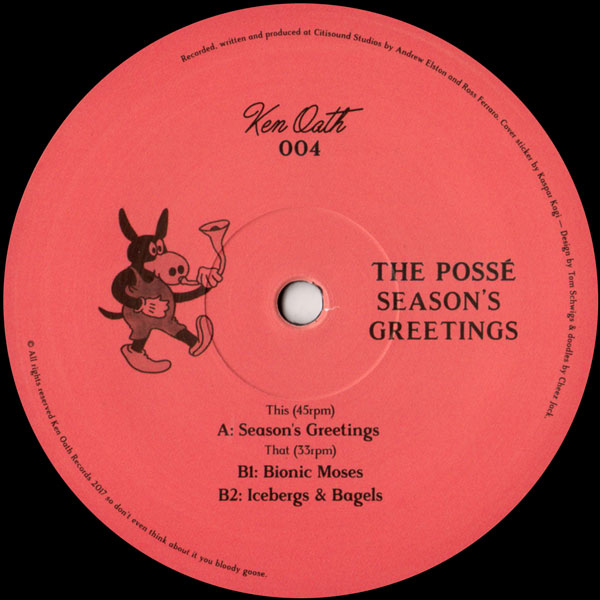 the-posse-seasons-greetings-ken-oath-records-cover